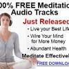 Free Meditation Audio Tracks